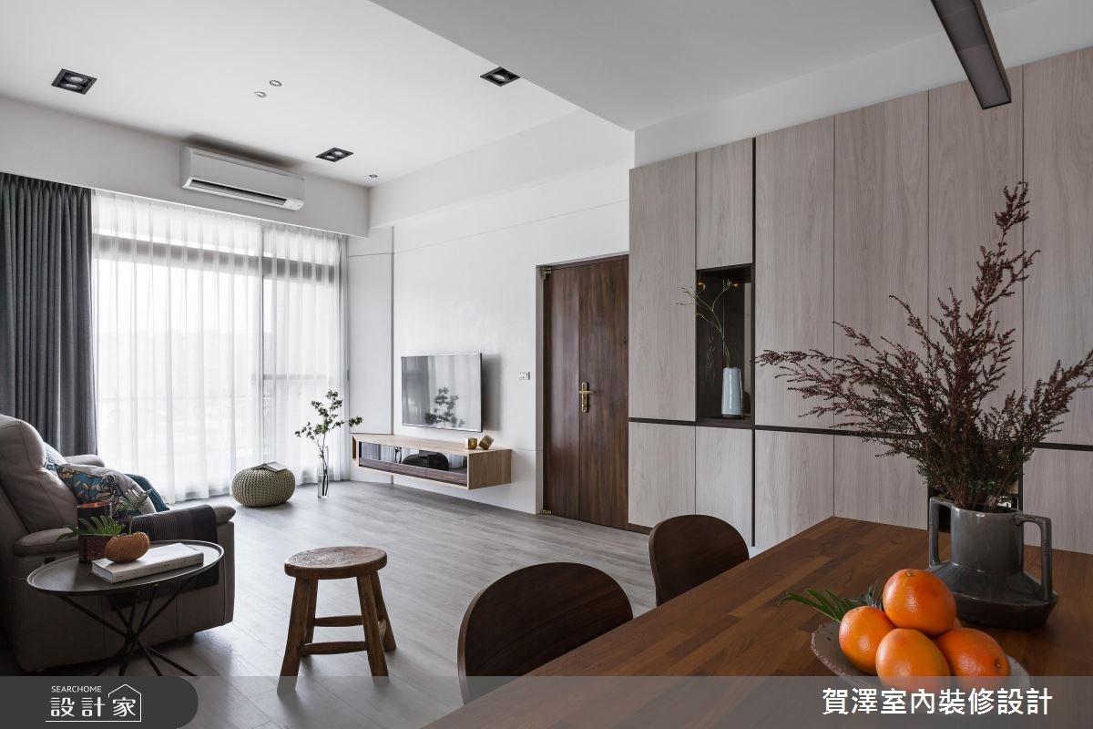 36坪中古屋(5~15年)_現代風客廳案例圖片_賀澤室內設計_賀澤_29之5