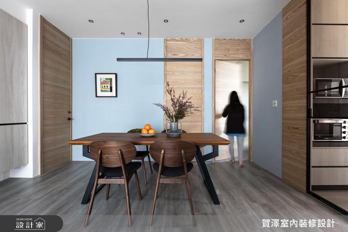 36坪中古屋(5~15年)_現代風餐廳案例圖片_賀澤室內設計_賀澤_29之8