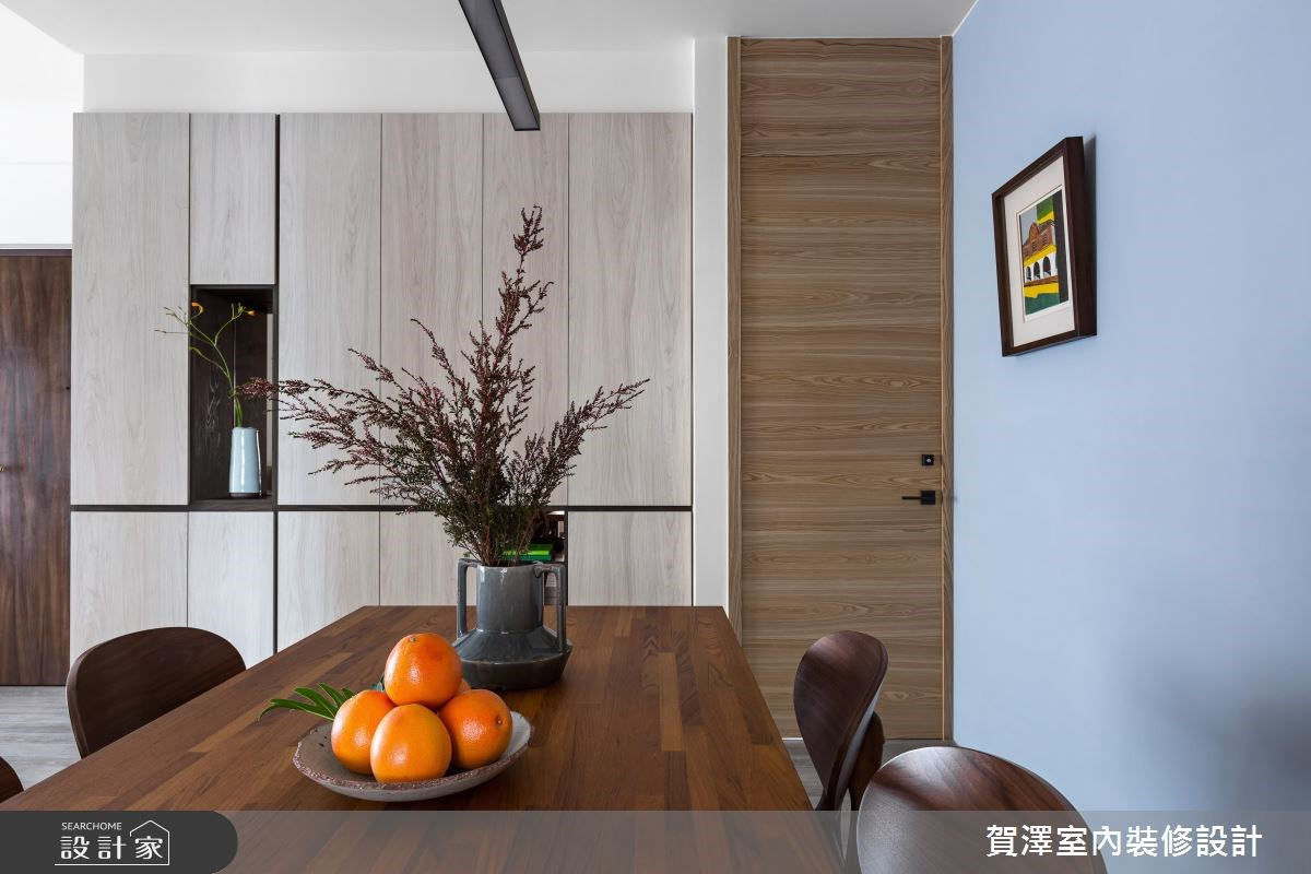 36坪中古屋(5~15年)_現代風餐廳案例圖片_賀澤室內設計_賀澤_29之9