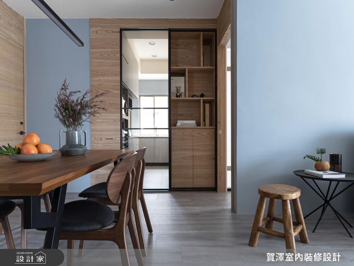 36坪中古屋(5~15年)_現代風餐廳案例圖片_賀澤室內設計_賀澤_29之10