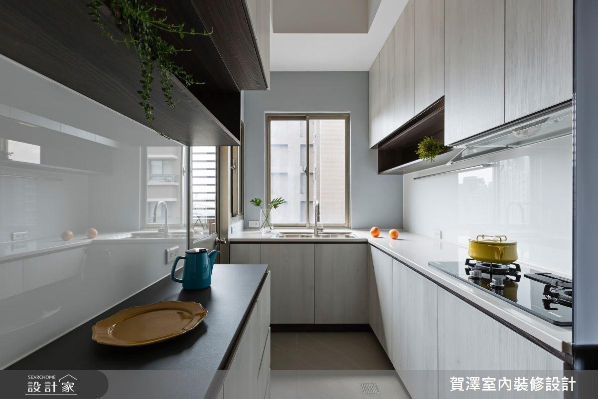 36坪中古屋(5~15年)_現代風廚房案例圖片_賀澤室內設計_賀澤_29之12