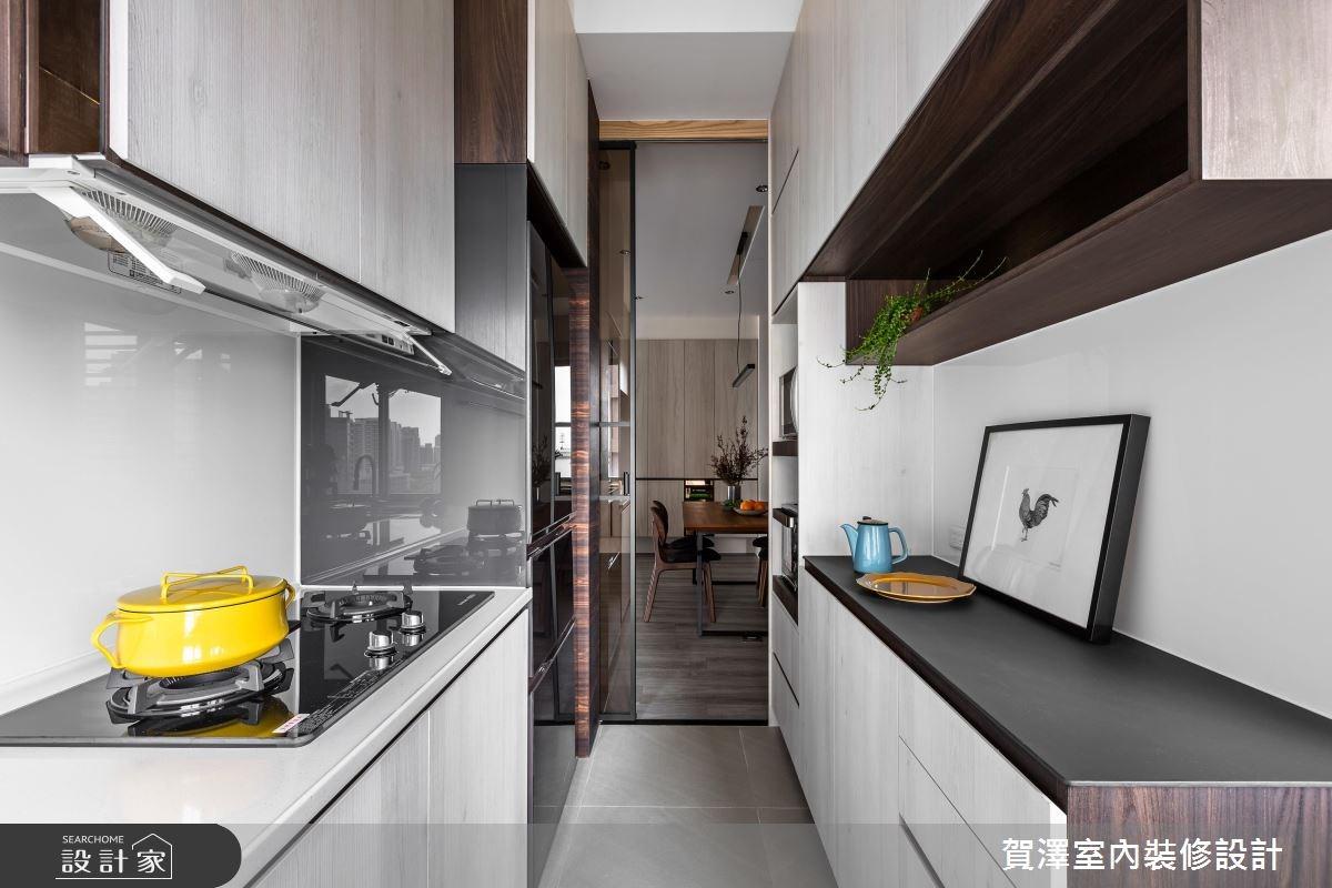 36坪中古屋(5~15年)_現代風廚房案例圖片_賀澤室內設計_賀澤_29之13