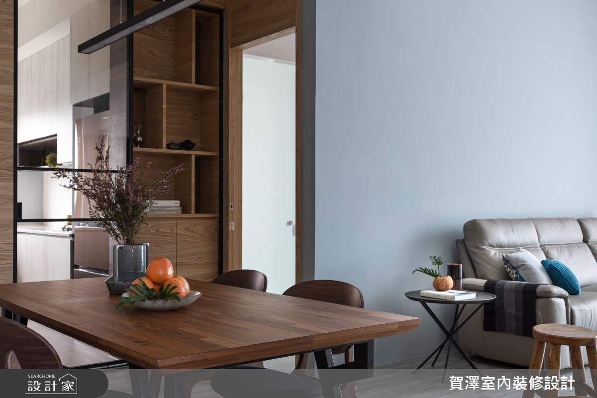 36坪中古屋(5~15年)_現代風餐廳案例圖片_賀澤室內設計_賀澤_29之14