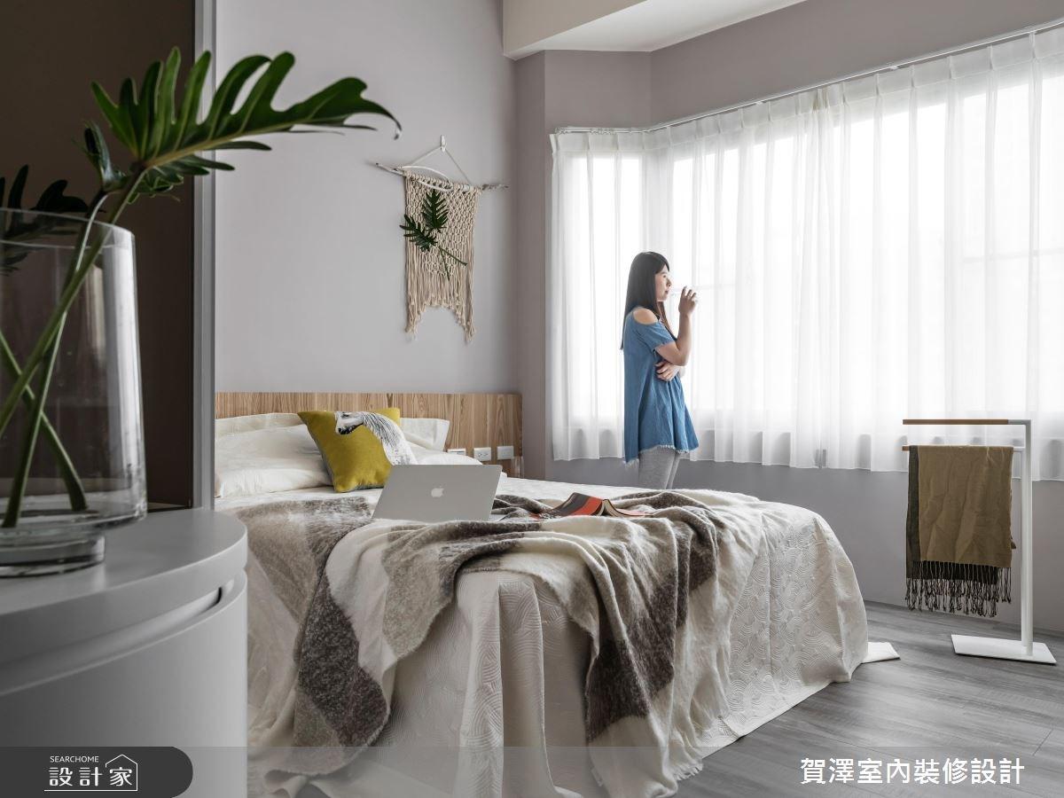 36坪中古屋(5~15年)_現代風臥室案例圖片_賀澤室內設計_賀澤_29之16