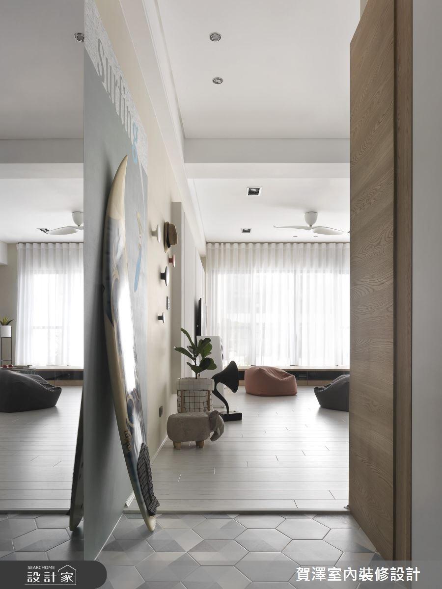52坪新成屋(5年以下)_北歐風玄關案例圖片_賀澤室內設計_賀澤_30之3