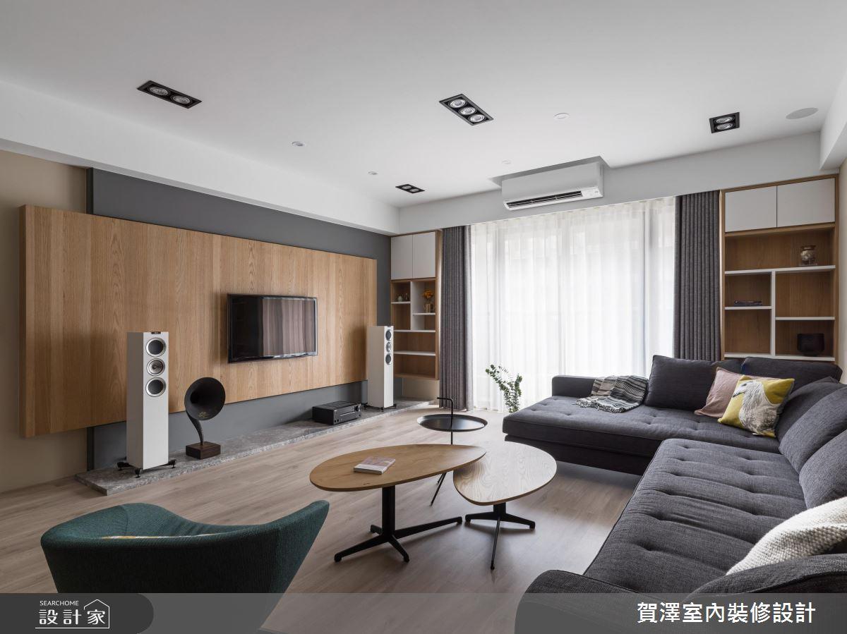 家也能這麼有溫度!暖暖木紋質感鋪敘一片無印良品風
