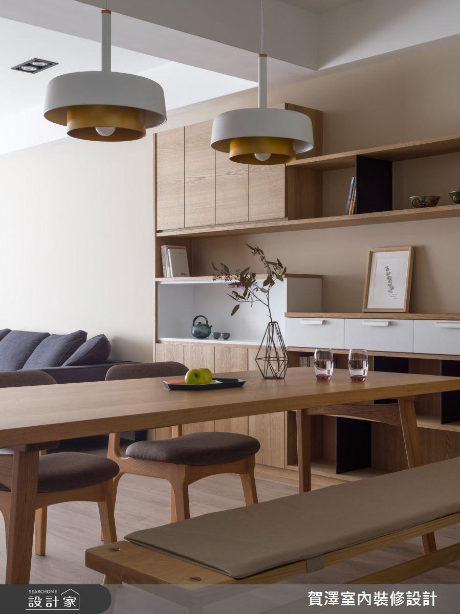 45坪新成屋(5年以下)_混搭風餐廳案例圖片_賀澤室內設計_賀澤_33之4