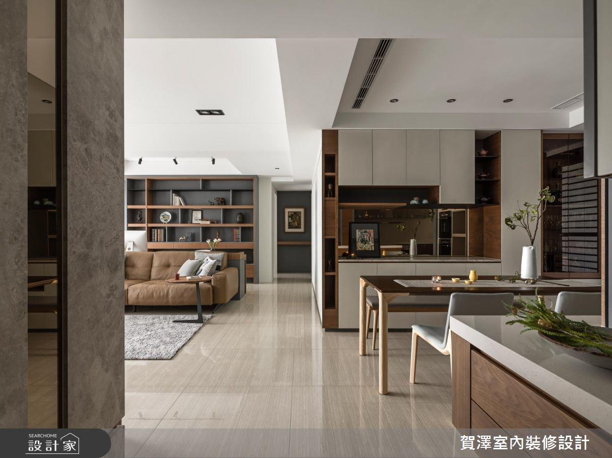 55坪新成屋(5年以下)_奢華風玄關案例圖片_賀澤室內設計_賀澤_34之2