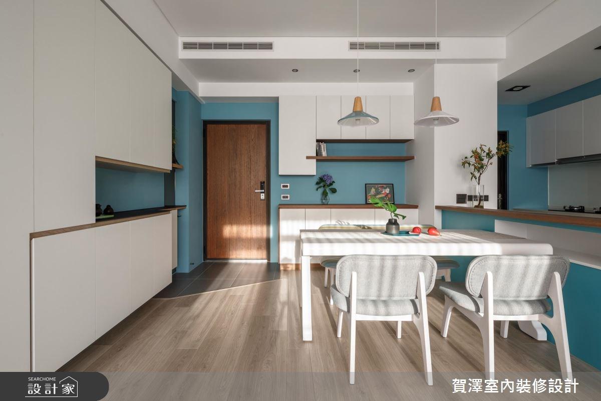 26坪預售屋_北歐風餐廳案例圖片_賀澤室內設計_賀澤_35之2