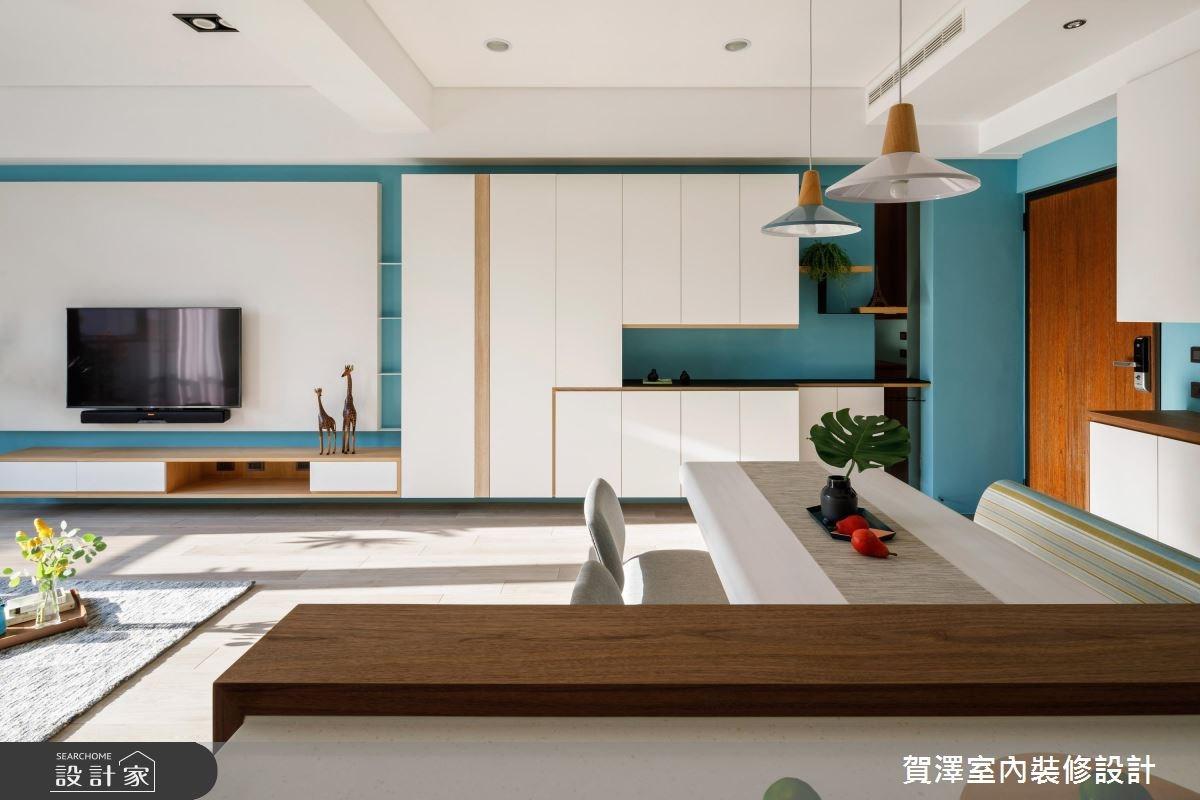 26坪預售屋_北歐風客廳案例圖片_賀澤室內設計_賀澤_35之4
