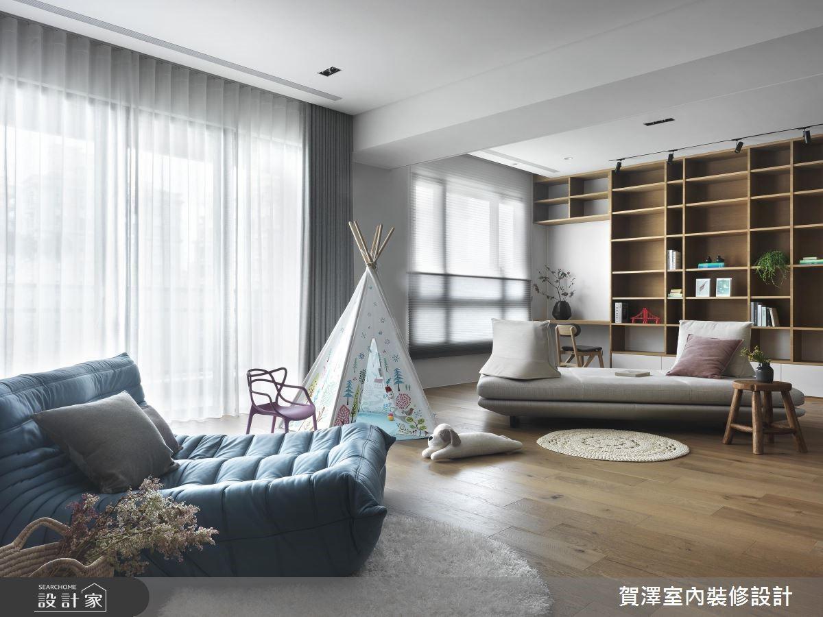 新成屋(5年以下)_休閒風客廳案例圖片_賀澤室內設計_賀澤_36之3