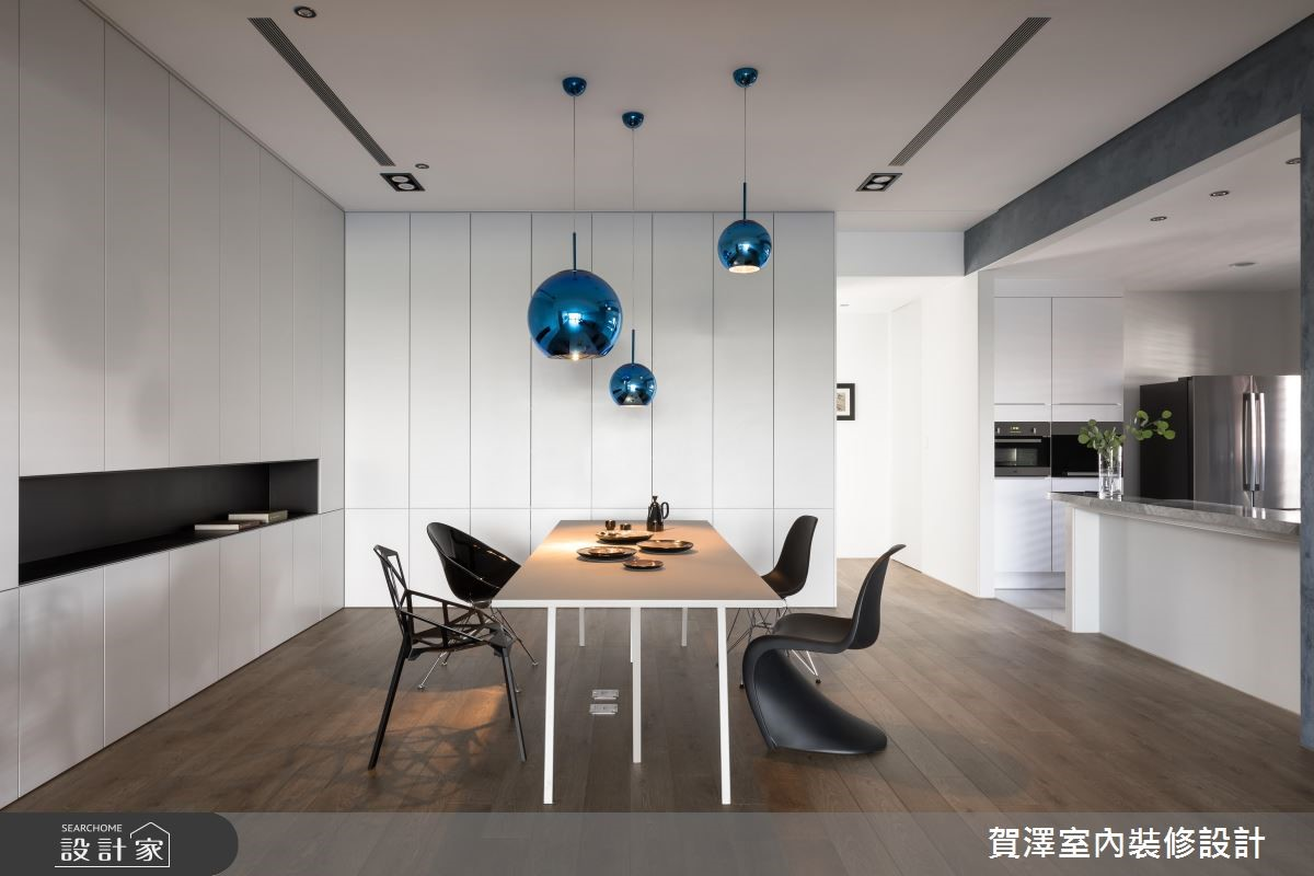 100坪新成屋(5年以下)_簡約風餐廳案例圖片_賀澤室內設計_賀澤_37之13