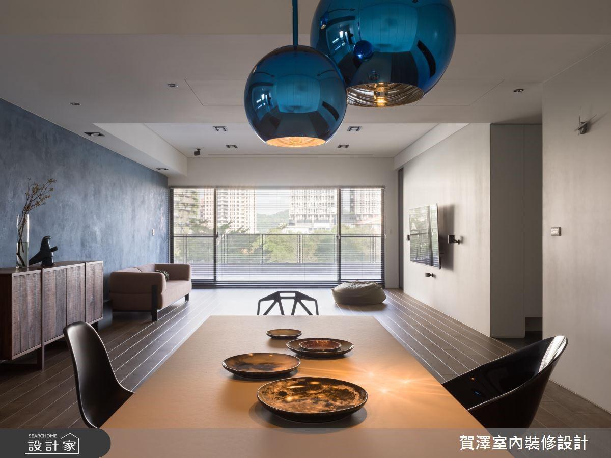 100坪新成屋(5年以下)_簡約風餐廳案例圖片_賀澤室內設計_賀澤_37之10