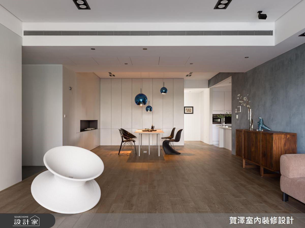 100坪新成屋(5年以下)_簡約風餐廳案例圖片_賀澤室內設計_賀澤_37之5