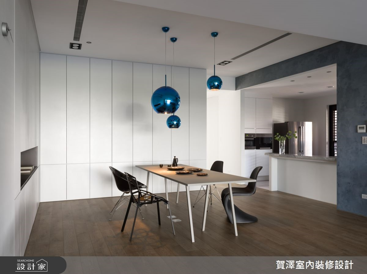 100坪新成屋(5年以下)_簡約風餐廳案例圖片_賀澤室內設計_賀澤_37之14