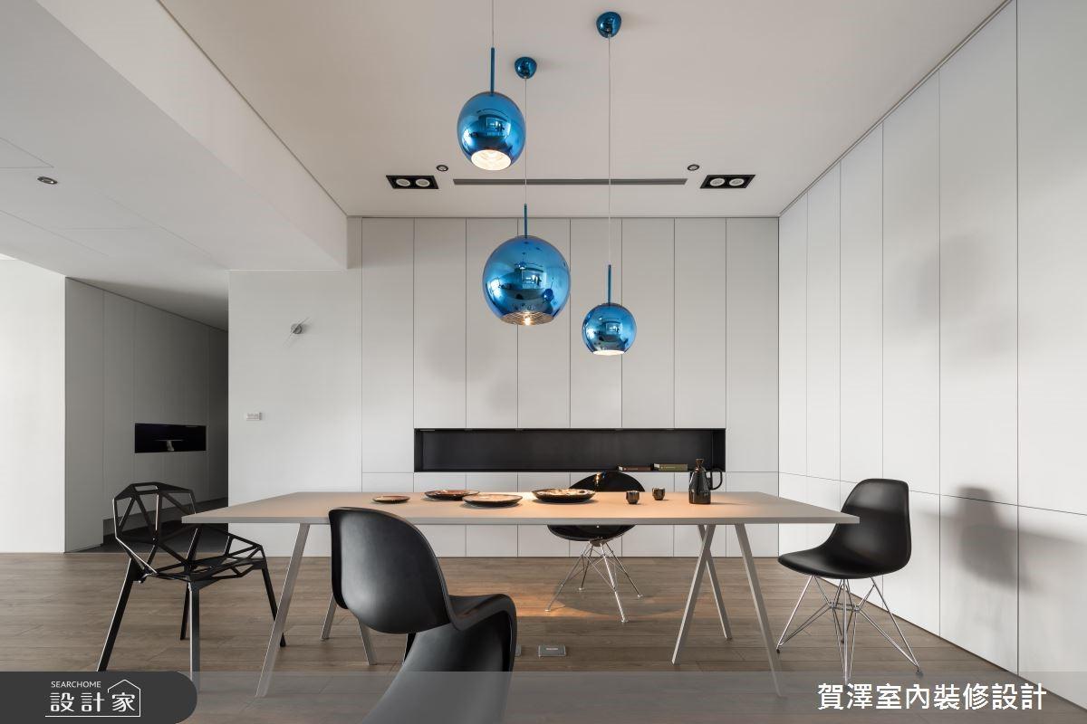 100坪新成屋(5年以下)_簡約風餐廳案例圖片_賀澤室內設計_賀澤_37之11