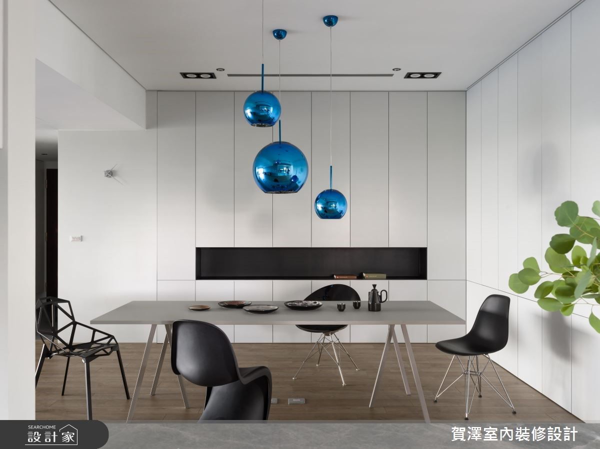 100坪新成屋(5年以下)_簡約風餐廳案例圖片_賀澤室內設計_賀澤_37之12