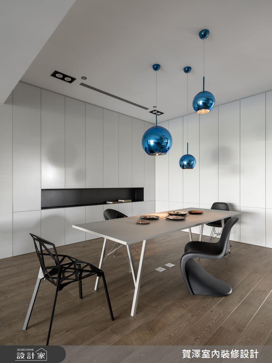100坪新成屋(5年以下)_簡約風餐廳案例圖片_賀澤室內設計_賀澤_37之15