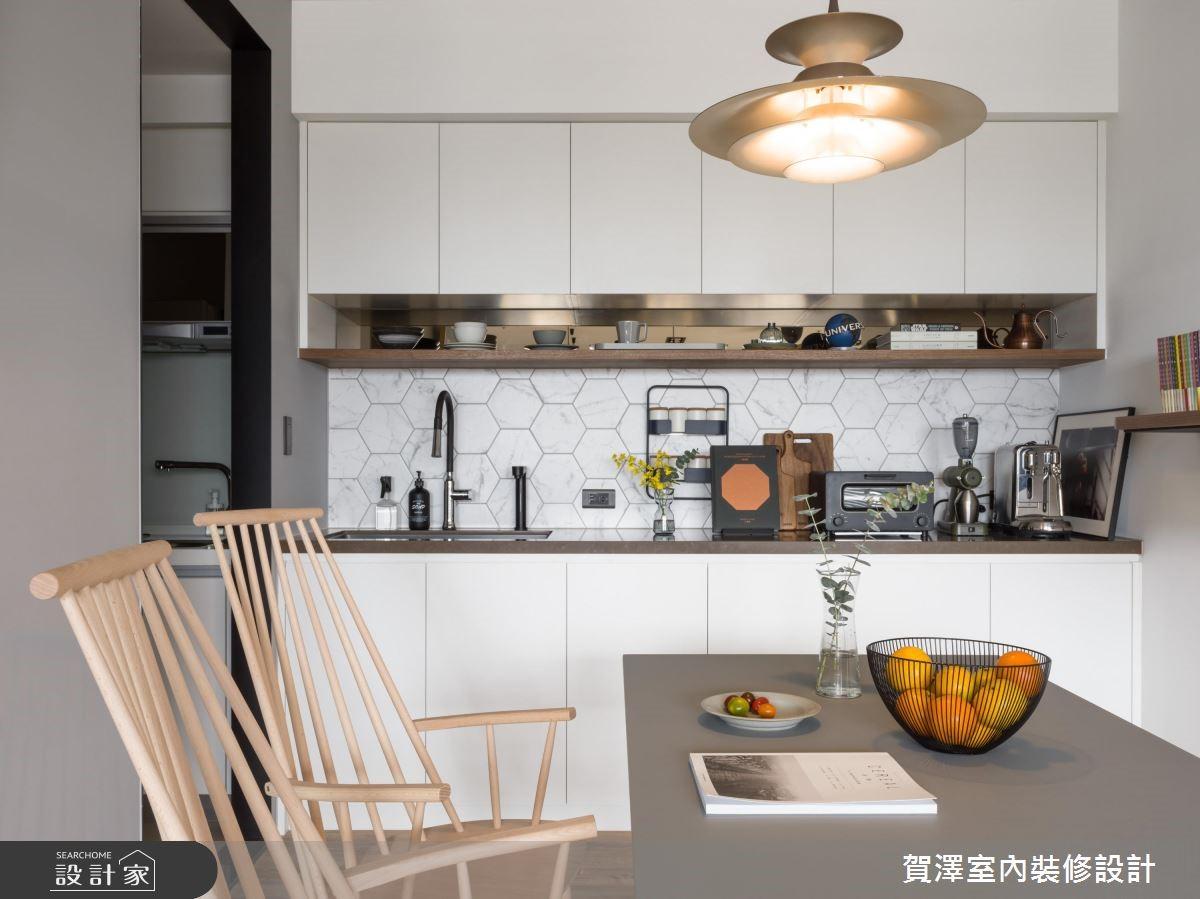 29坪新成屋(5年以下)_北歐風餐廳案例圖片_賀澤室內設計_賀澤_38之10