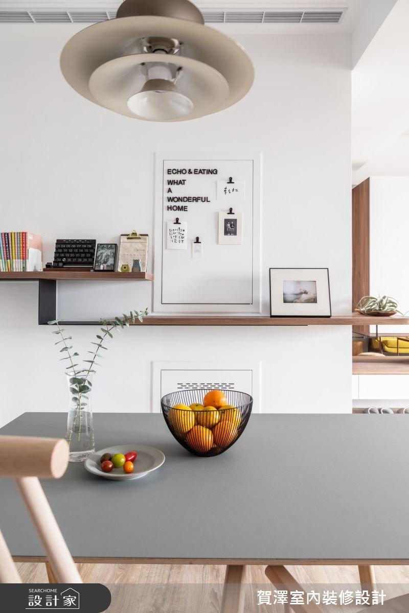 29坪新成屋(5年以下)_北歐風餐廳案例圖片_賀澤室內設計_賀澤_38之12