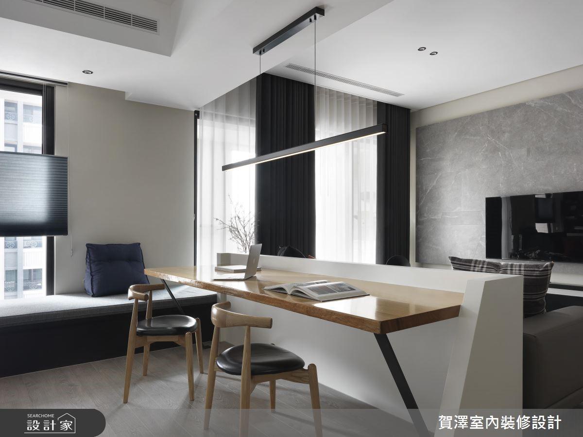 67坪新成屋(5年以下)_現代風書房臥榻案例圖片_賀澤室內設計_賀澤_39之16