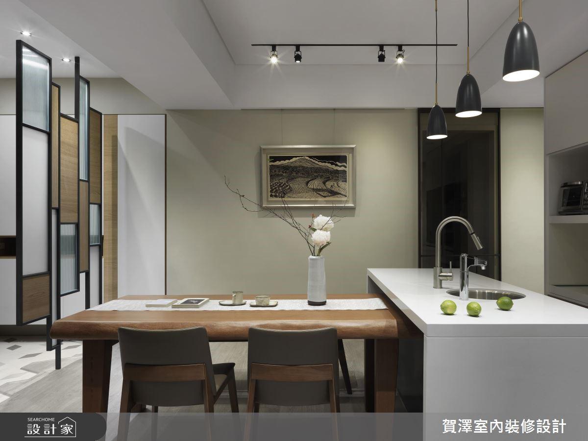 67坪新成屋(5年以下)_現代風餐廳吧檯案例圖片_賀澤室內設計_賀澤_39之10