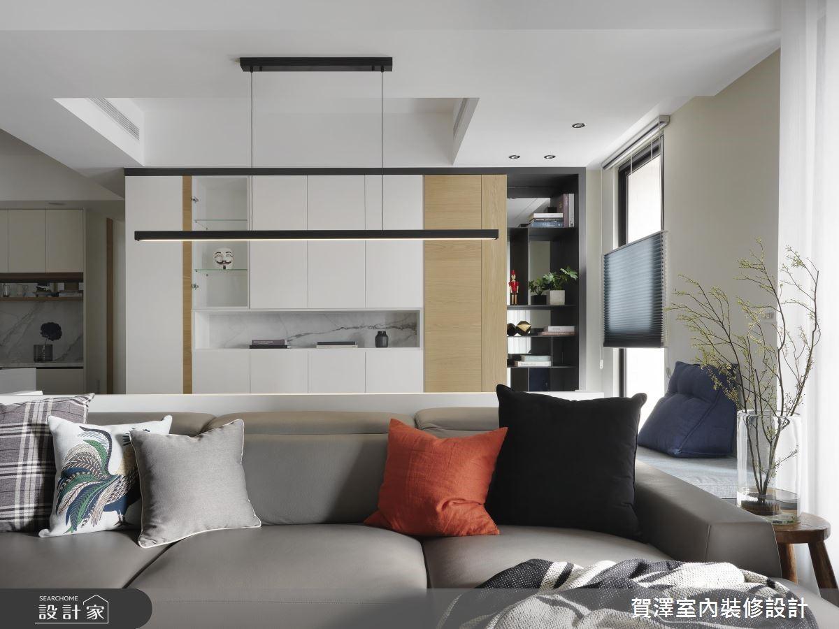 67坪新成屋(5年以下)_現代風客廳案例圖片_賀澤室內設計_賀澤_39之7