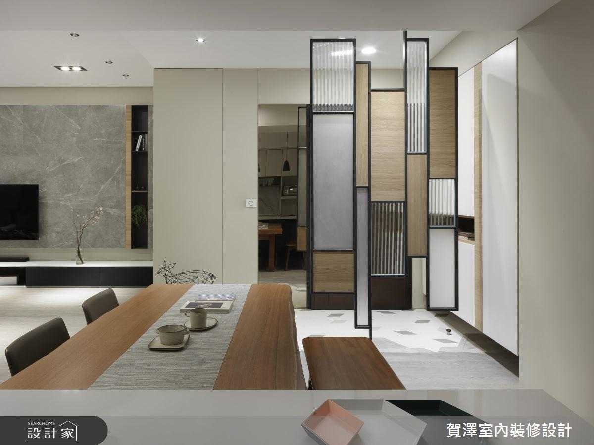 67坪新成屋(5年以下)_現代風餐廳案例圖片_賀澤室內設計_賀澤_39之2