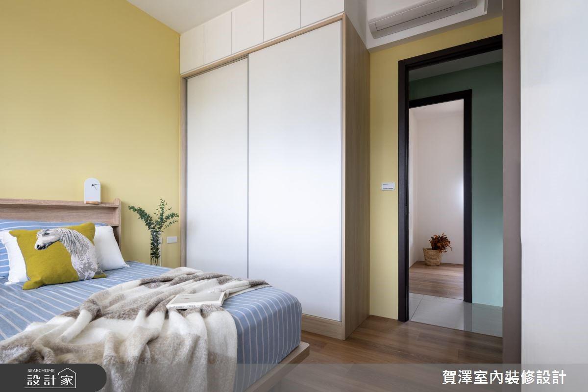 30坪新成屋(5年以下)_北歐風臥室案例圖片_賀澤室內設計_賀澤_40之19