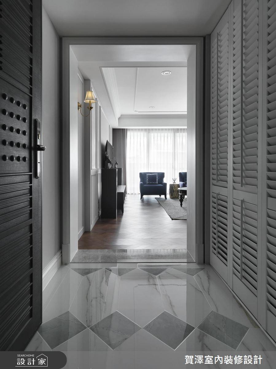 68坪新成屋(5年以下)_美式風玄關案例圖片_賀澤室內設計_賀澤_42之1