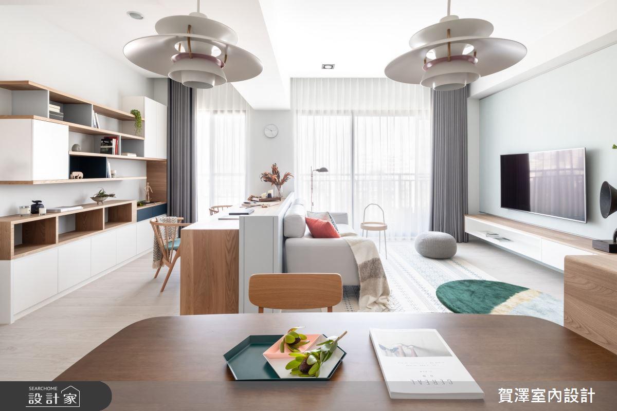 新成屋(5年以下)_混搭風客廳案例圖片_賀澤室內設計_賀澤_49之2