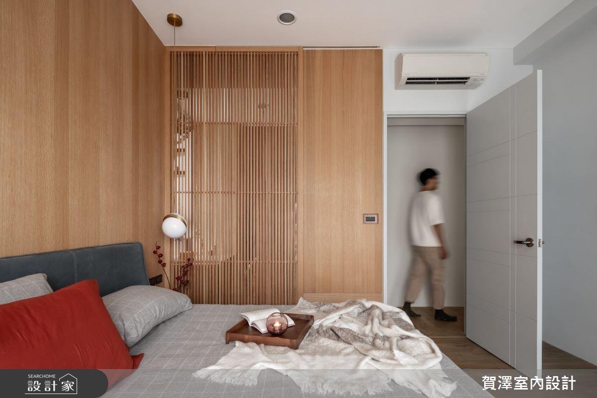 26坪新成屋(5年以下)_混搭風臥室案例圖片_賀澤室內設計_賀澤_50之18