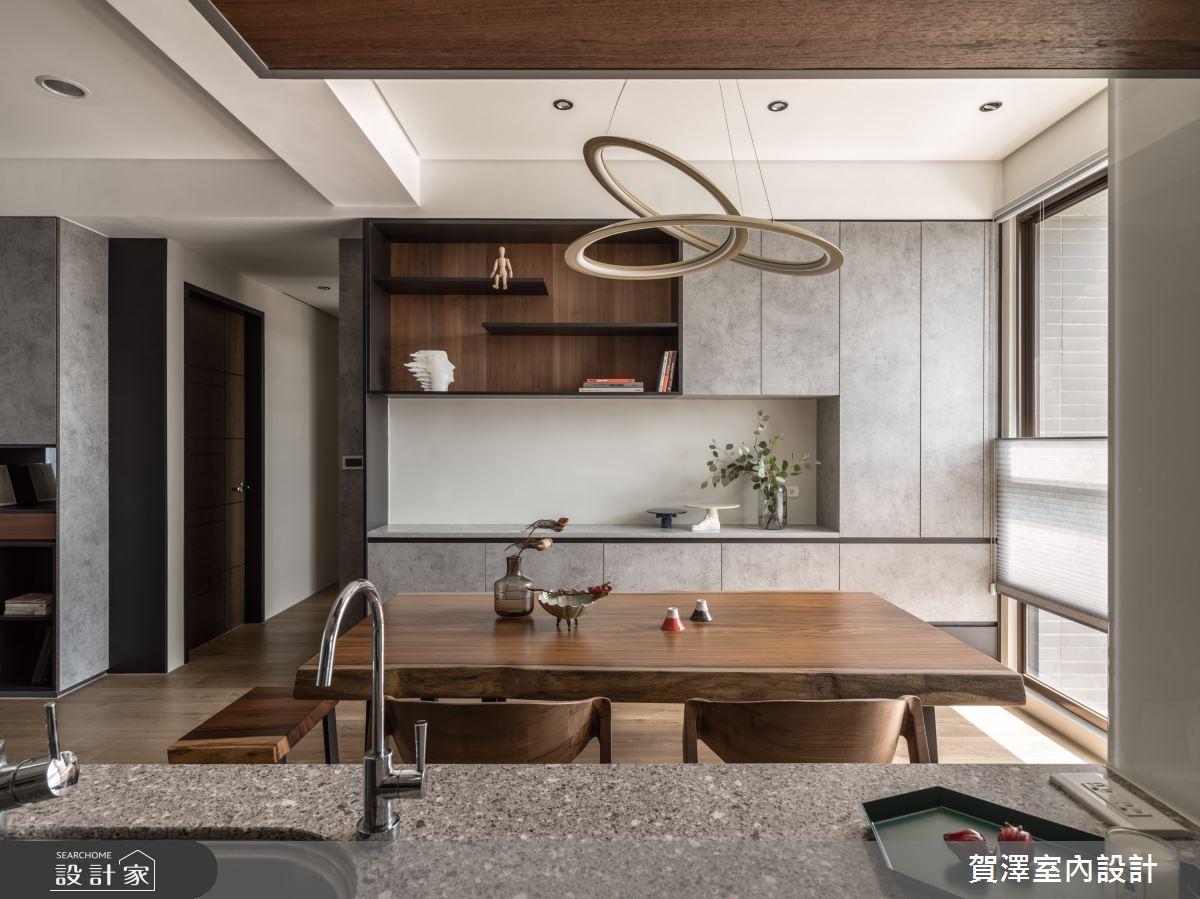26坪新成屋(5年以下)_混搭風餐廳案例圖片_賀澤室內設計_賀澤_50之13
