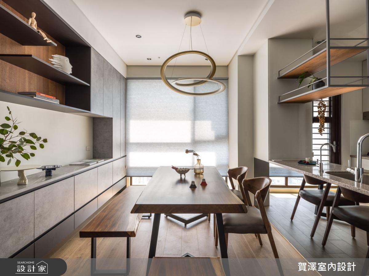 26坪新成屋(5年以下)_混搭風餐廳案例圖片_賀澤室內設計_賀澤_50之14