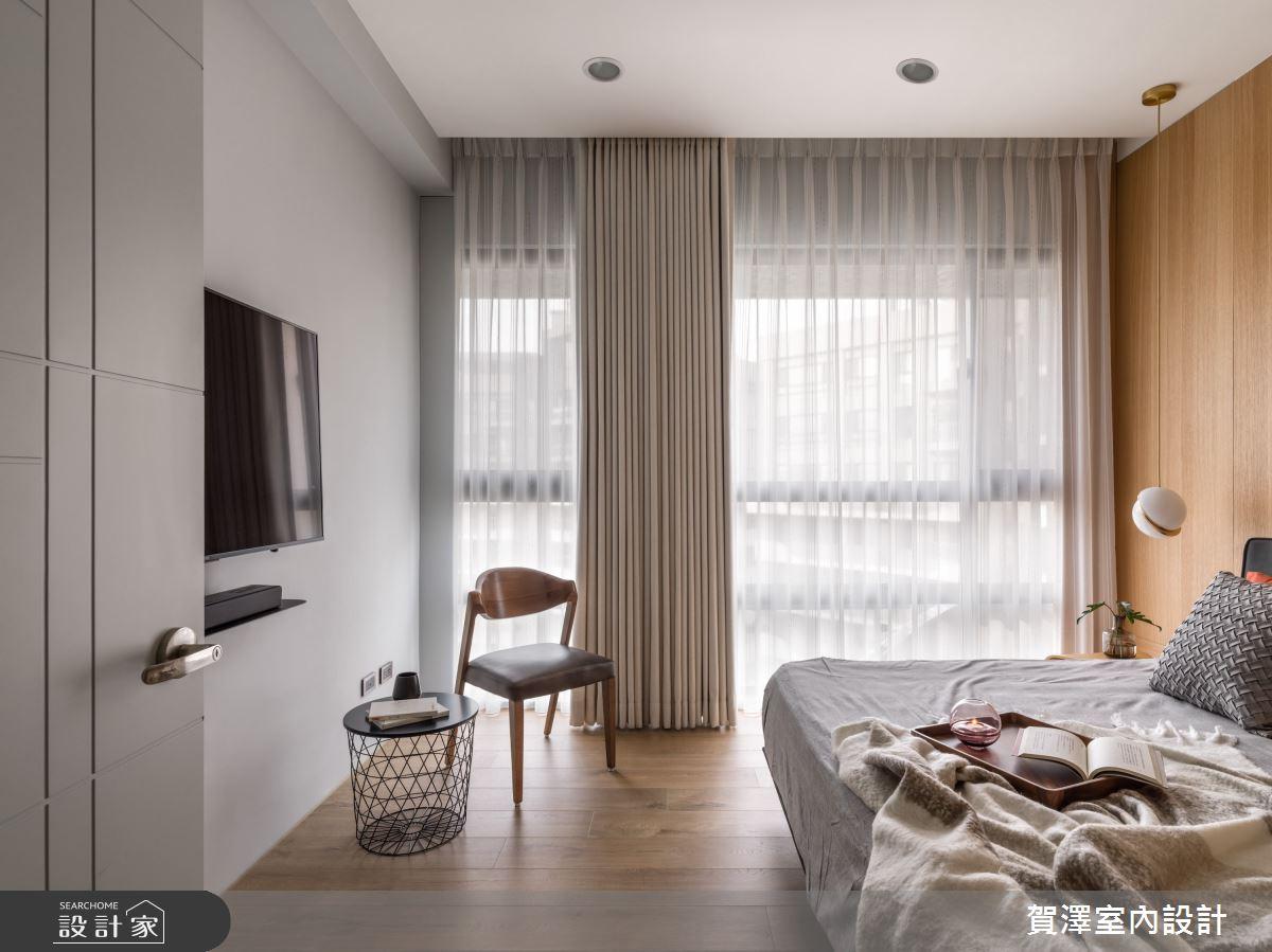 26坪新成屋(5年以下)_混搭風臥室案例圖片_賀澤室內設計_賀澤_50之16