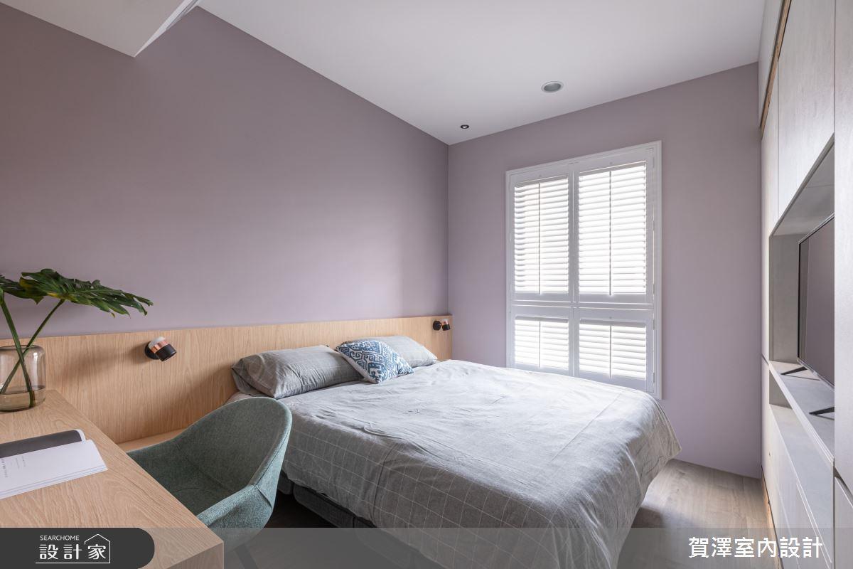 40坪新成屋(5年以下)_北歐風臥室案例圖片_賀澤室內設計_賀澤_52之17