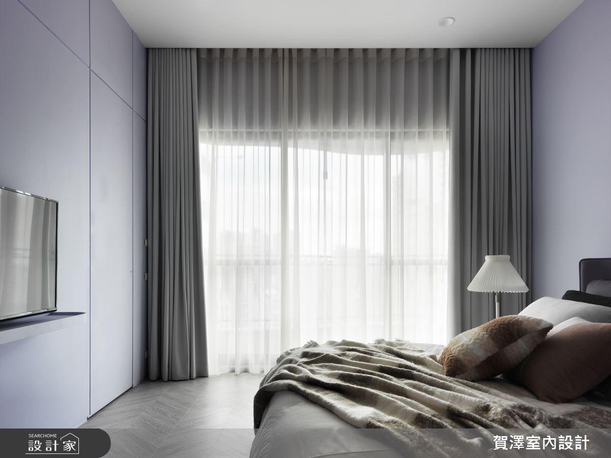 65坪中古屋(5~15年)_混搭風臥室案例圖片_賀澤室內設計_賀澤_53之23