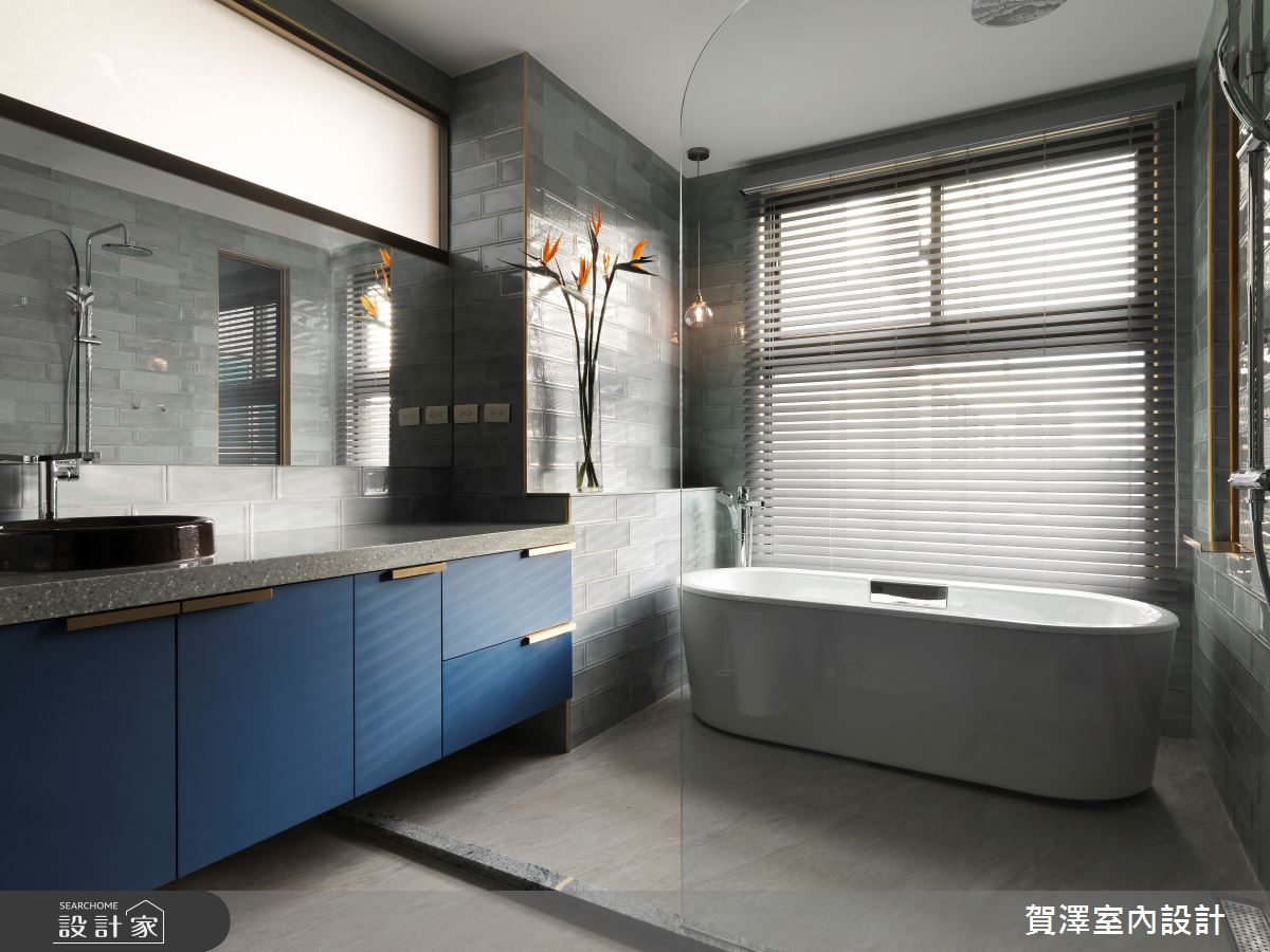 65坪中古屋(5~15年)_混搭風浴室案例圖片_賀澤室內設計_賀澤_53之29