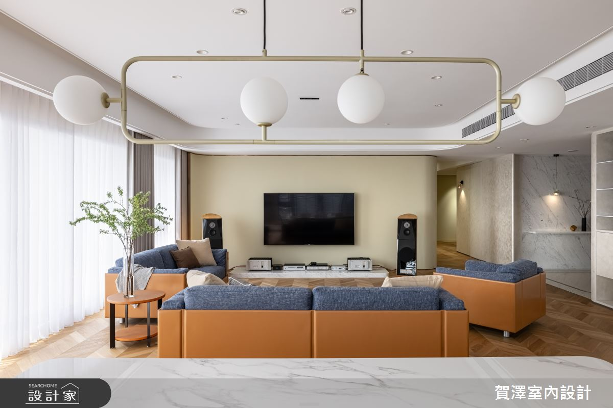 70坪新成屋(5年以下)_北歐風案例圖片_賀澤室內設計_賀澤_56之5