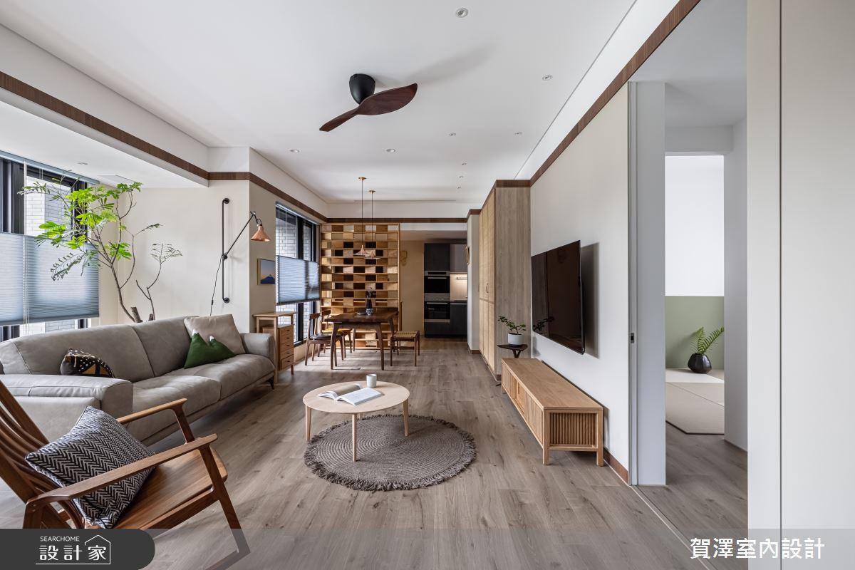 28坪新成屋(5年以下)_日式無印風案例圖片_賀澤室內設計_賀澤_59之3