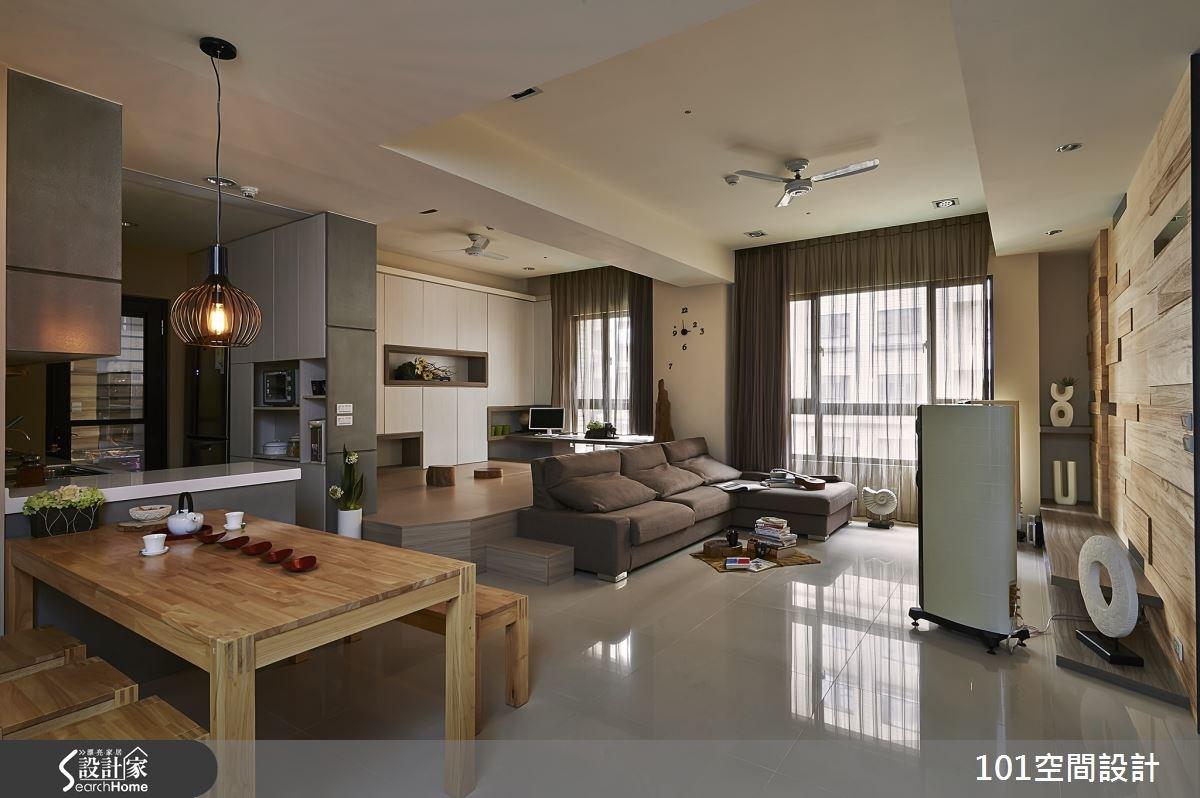 30坪新成屋(5年以下)_人文禪風案例圖片_101空間設計_101空間_01之3