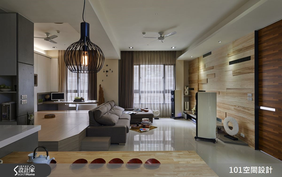 30坪新成屋(5年以下)_人文禪風案例圖片_101空間設計_101空間_01之1