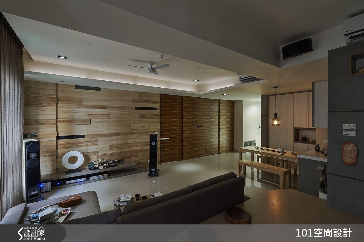30坪新成屋(5年以下)_人文禪風案例圖片_101空間設計_101空間_01之2