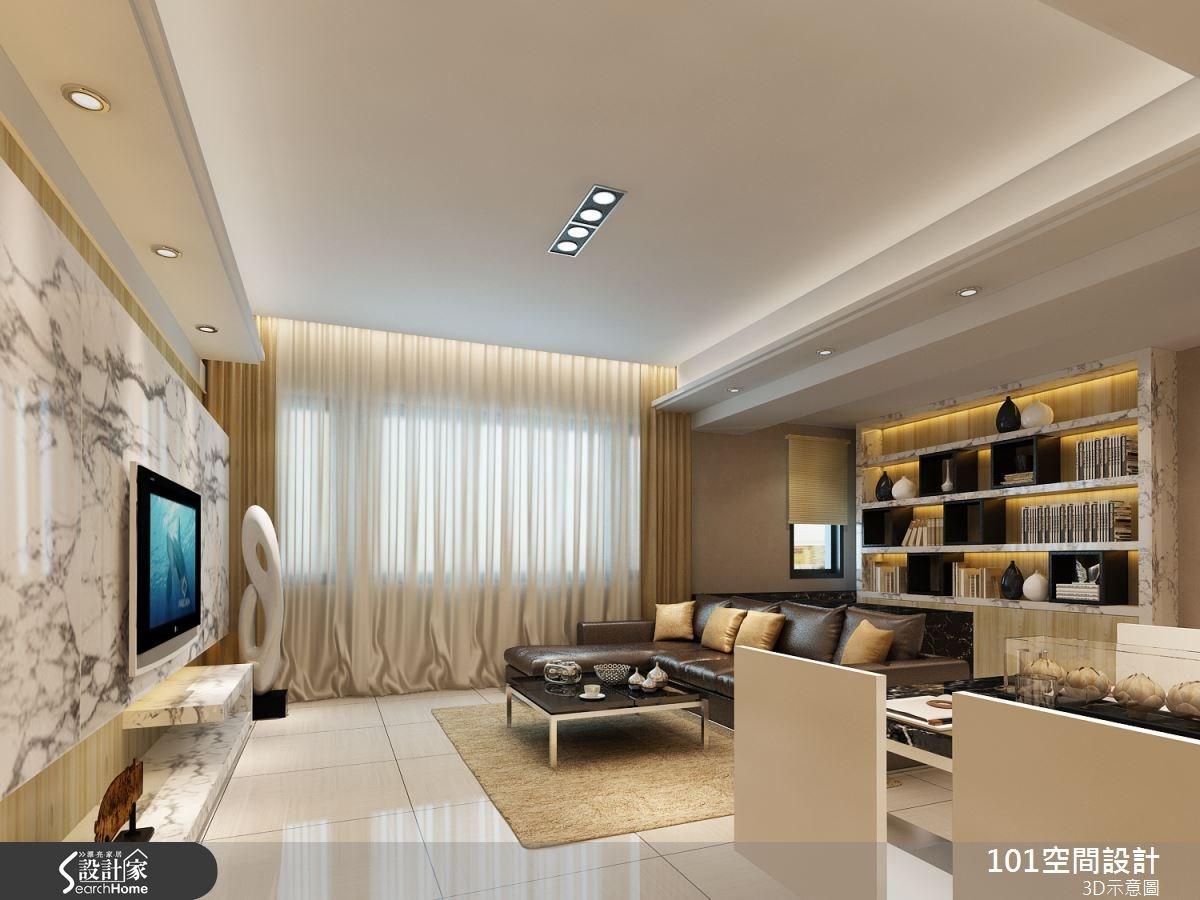 40坪新成屋(5年以下)_療癒風案例圖片_101空間設計_101空間_04之2