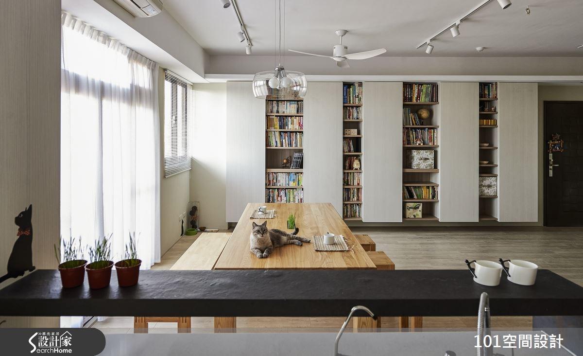 30坪新成屋(5年以下)_北歐風案例圖片_101空間設計_101空間_02之1