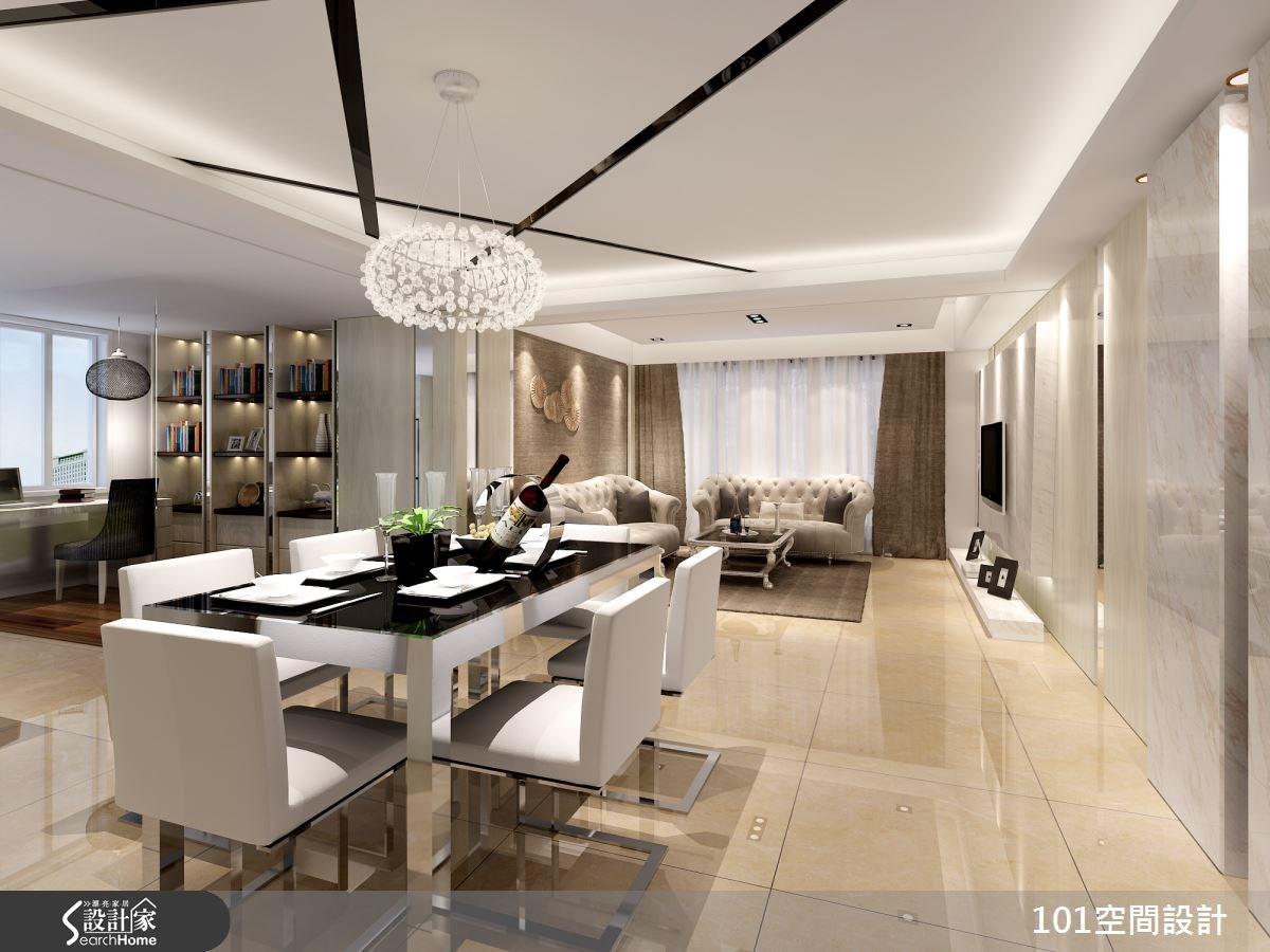 50坪新成屋(5年以下)_現代風案例圖片_101空間設計_101空間_07之4