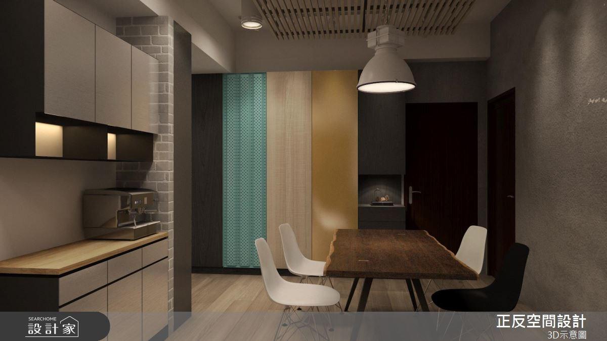 40坪新成屋(5年以下)_工業風餐廳案例圖片_正反空間設計有限公司_正反_03之4