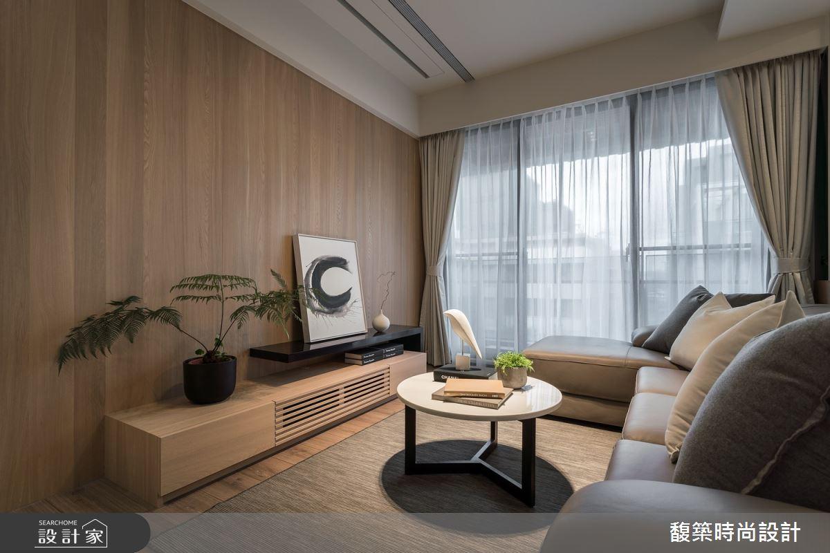 24坪新成屋(5年以下)_現代風客廳案例圖片_馥築時尚設計_馥築_17之3