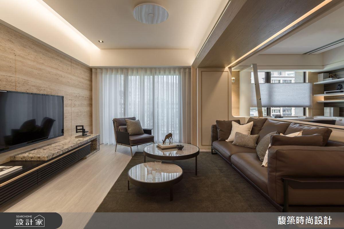 34坪新成屋(5年以下)_現代風客廳案例圖片_馥築時尚設計_馥築_25之2