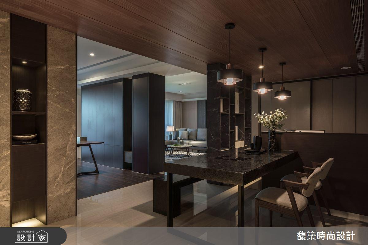 50坪新成屋(5年以下)_現代風餐廳案例圖片_馥築時尚設計_馥築_26之4
